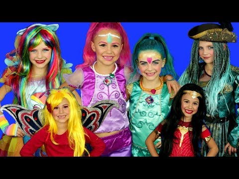 5 Halloween Costumes: Shimmer And Shine, Descendants 2 Costumes And MORE!