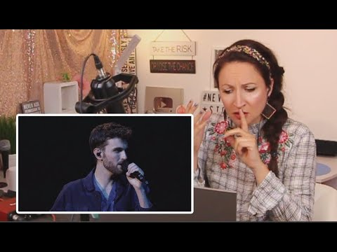 Vocal Coach Reacts to - Duncan Laurence - Arcade - The Netherlands - Eurovision 2019