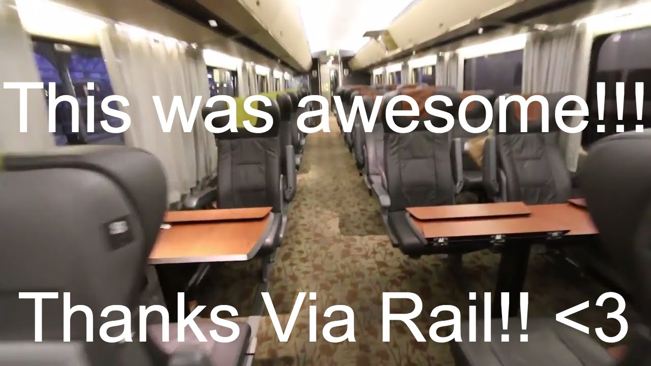 Via Rail 150 Business Class Montreal To Toronto