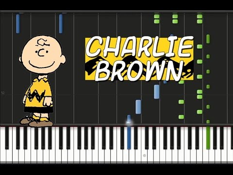 how to play charlie brown theme on piano
