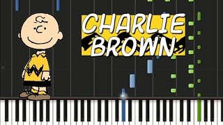 The Charlie Brown - Theme Song [Synthesia Tutorial]