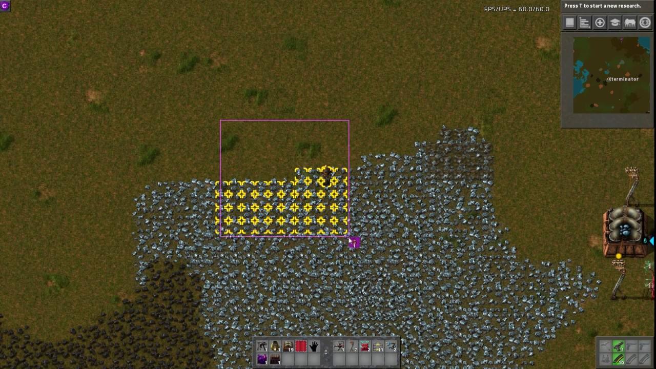 Factorio Mod Spotlight - Dirty Mining