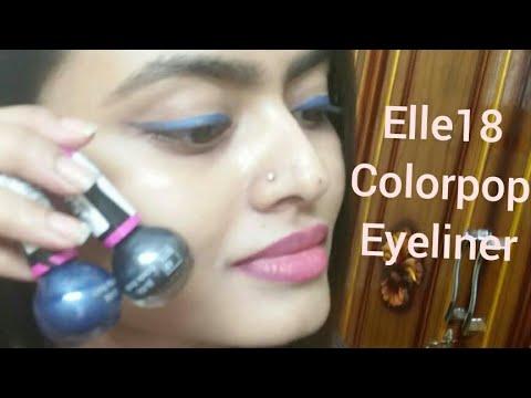 Elle 18 color pop liner REVIEW / Affordable eyeliner