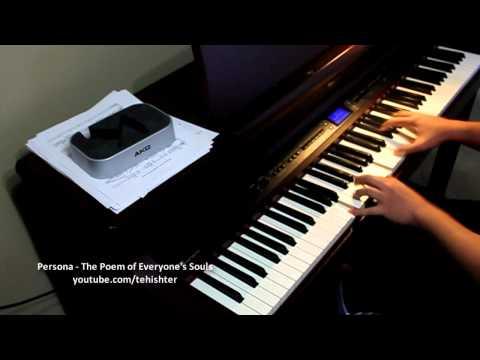 Persona - The Poem of Everyone's Souls (Piano Transcription)