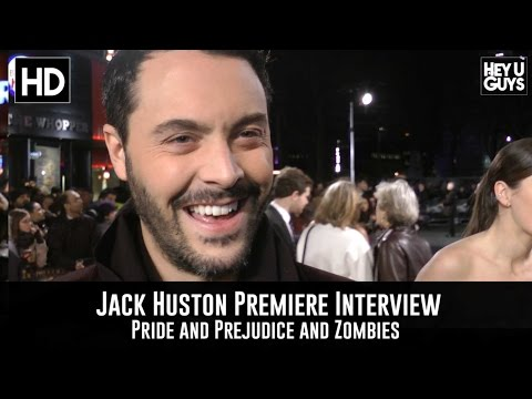 Jack Huston Premiere Interview - Pride and Prejudice and Zombies
