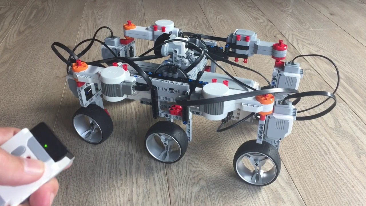 Simple Mars Rover - LEGO Mindstorms - Remote Controlled
