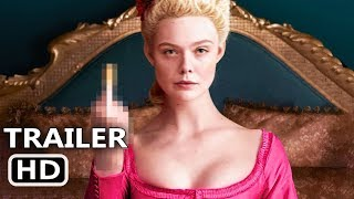 THE GREAT Trailer # 2 (2020) Elle Fanning, Nicholas Hoult Movie HD
