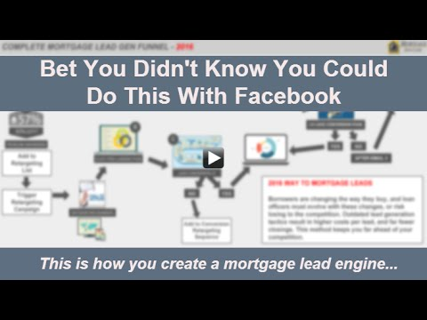 Build A Mortgage Lead Engine