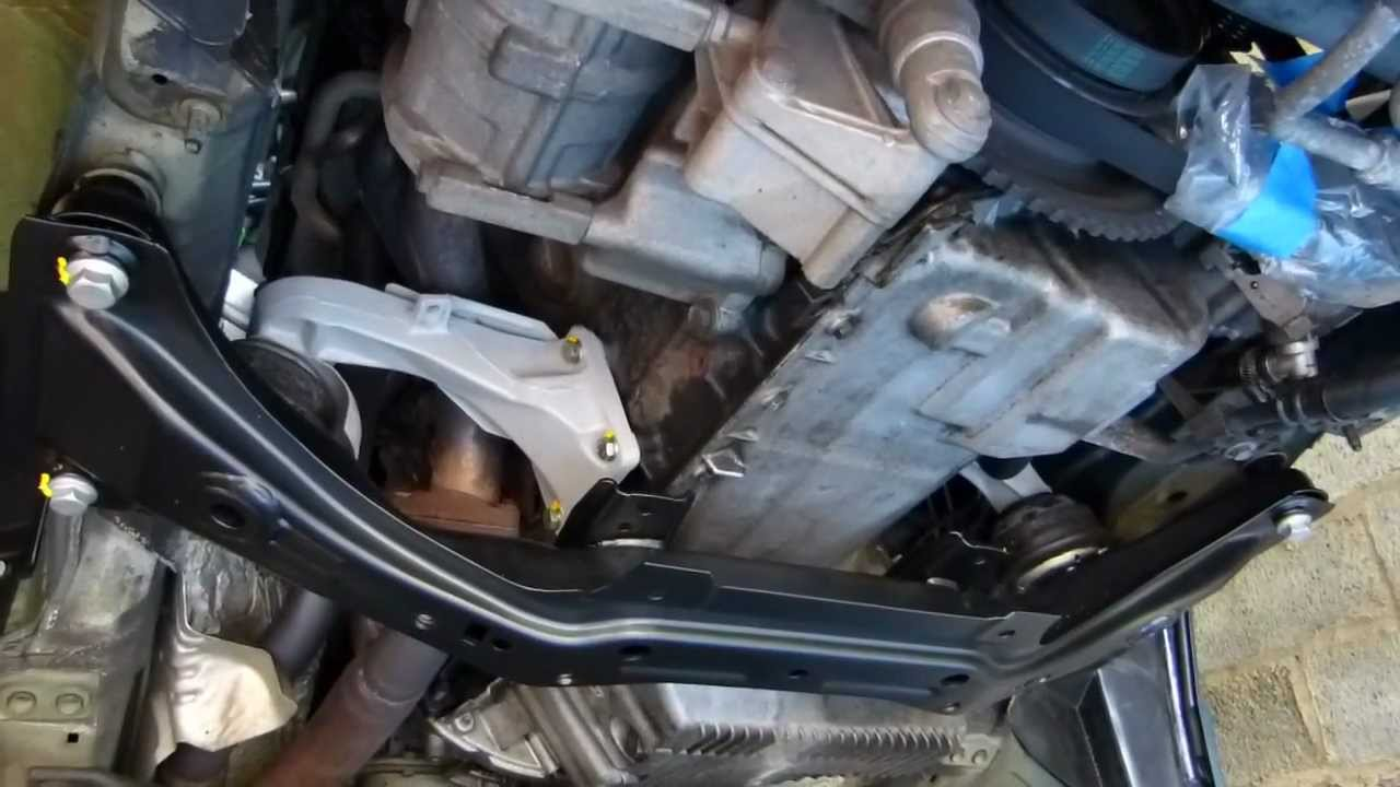 Subframe And Engine Mounts Reinstalled Youtube