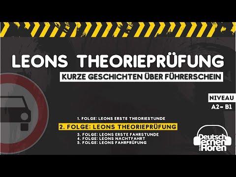 #249 Leons Theorieprüfung (2/5)    Deutsch lernen durch Hören - Deutsch lernen mit Geschichten -DldH