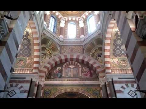Inside the Notre-dame de la garde, Marseille