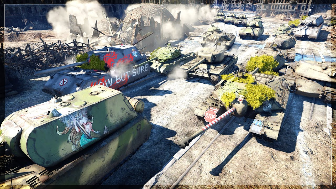 OLD SCHOOL War Thunder Heavy Tank BRAWL (War Thunder)