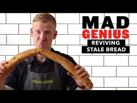 How to Revive Stale Bread   Mad Genius Tips   Food & Wine