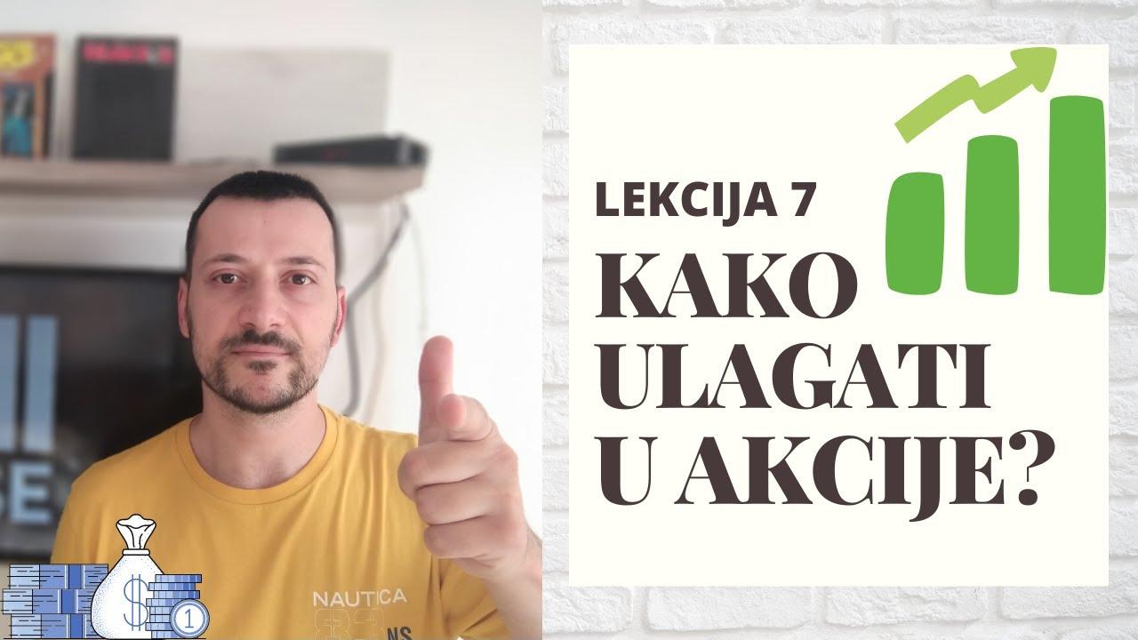"""Download INVESTIRANJE NA BERZI """"BABY LEVEL"""" – 7. lekcija – """"KAKO ULAGATI U AKCIJE"""""""