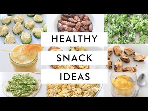 10 Healthy Snack Ideas Everyone Should Know!