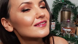 GRWM я ревела от Американский макияж с корейскими тенями О да Heimish
