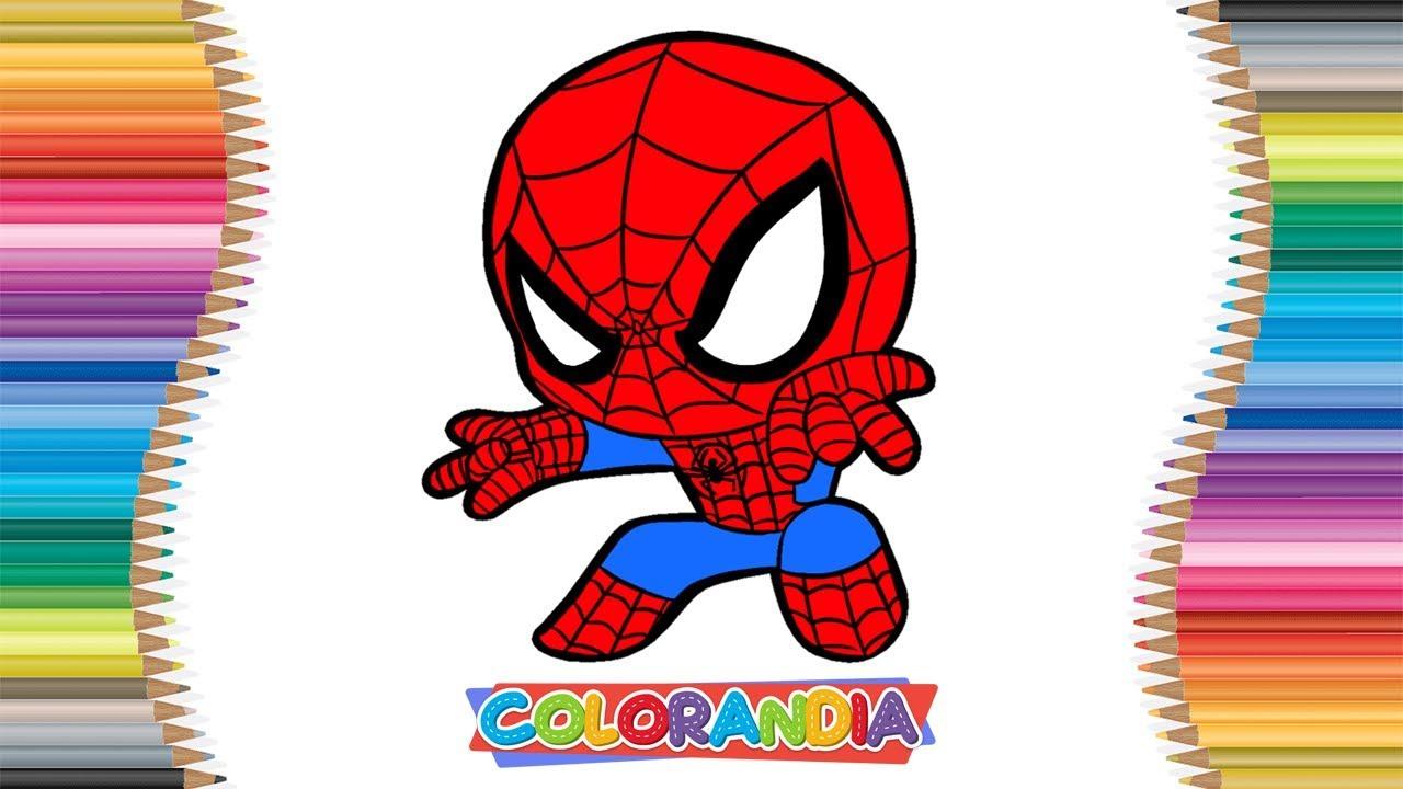Homem Aranha Desenhar E Colorir Jogos De Pintar Desenhos Animados