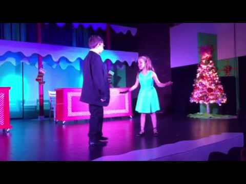 Ella as Jovie in Elf Jr. Christmas Song