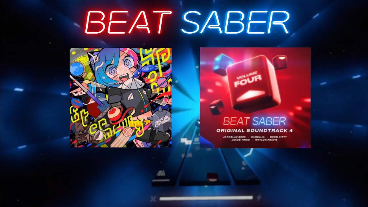 Download BEAT SABER OST 4 | Camellia - Spin Eternally | [Expert+] SS | 1 miss
