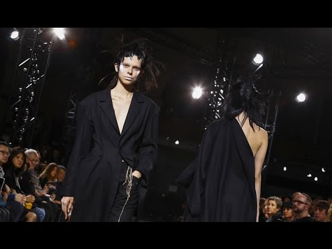 Yohji Yamamoto | Spring Summer 2017 Full Fashion Show | Exclusive