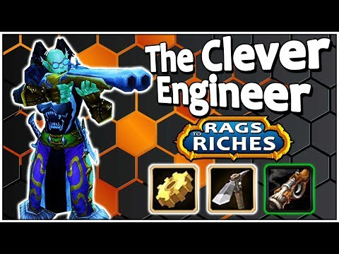 The Clever Engineer - Classic Vanilla WoW Guide - Rags to Riches #01
