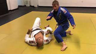 Invisible Choke From Side Control by Tom Oberhue Download Bernardo ...