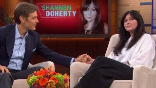 EXCLUSIVE: Dr. Oz Says Shannen Doherty Will Survive Her Breast Cancer Battle