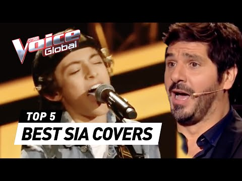 BEST 'SIA' Blind Auditions in The Voice Kids | The Voice Global