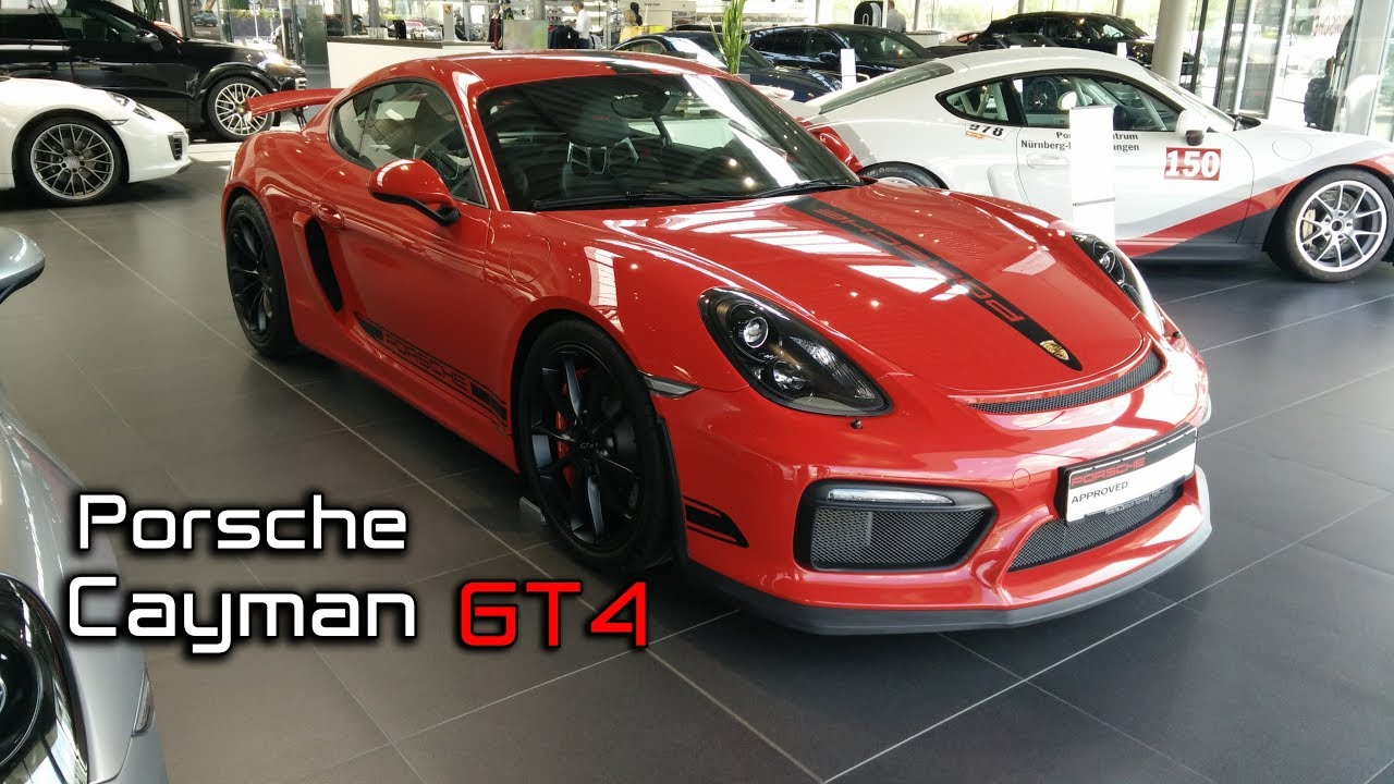 2018 Porsche Cayman Gt4 Walk Around Series 1