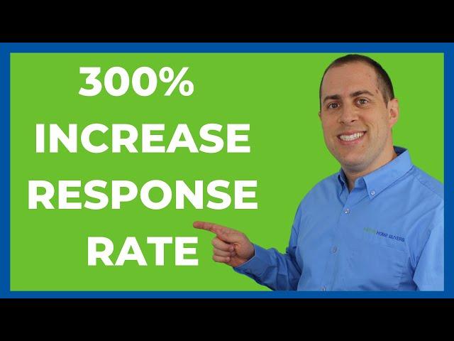300% Increase - REI Response Rate