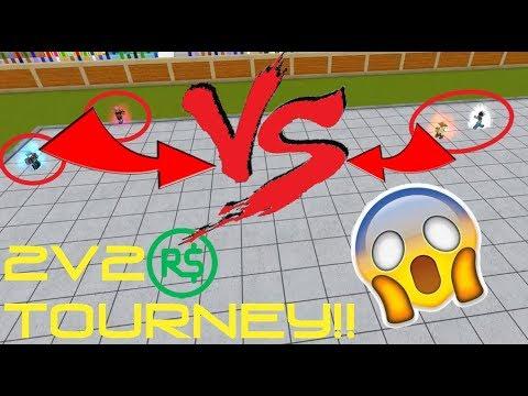 2v2 ROBUX TOURNAMENT!! | Roblox: Dragon Ball Z Final Stand