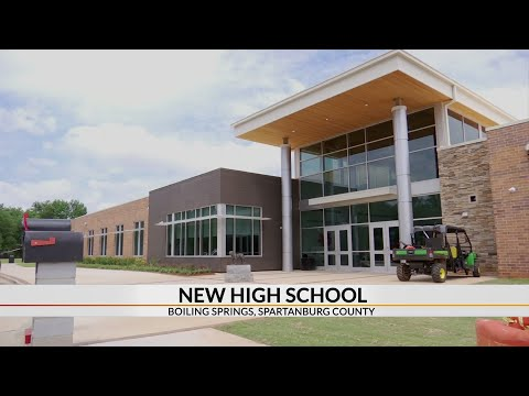 First look inside new Boiling Springs High School
