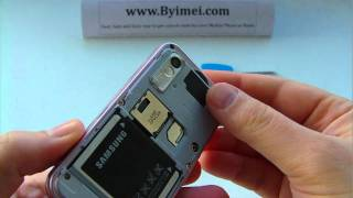 Samsung GT-S5230 Star S5230 Unlock & input / enter code.AVI(The unlock Code can be purchased from here: http://www.byimei.com/samsung-unlocking/samsung-gt-s5230-star.html This is not a free unlocking service, ..., 2011-03-02T00:44:41.000Z)