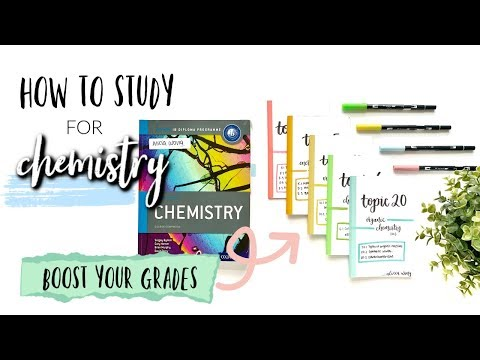 HOW TO STUDY FOR CHEMISTRY! (IB CHEMISTRY HL) *GET CONSISTENT GRADES* | Studycollab: Alicia