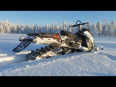 Lynx 49 Ranger 600 E-TEC 2015 - Deep snow freeriding