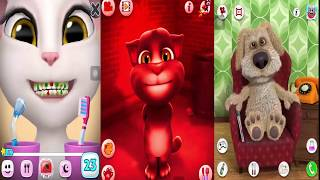 Learn Colors with My Talking Tom Colours for Kids Animation Education Cartoon Compilation #6