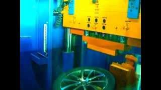 Тест на удар (обод) - колесные литые диски на Volkswagen (Фольксваген). WSP Italy W454 RIACE