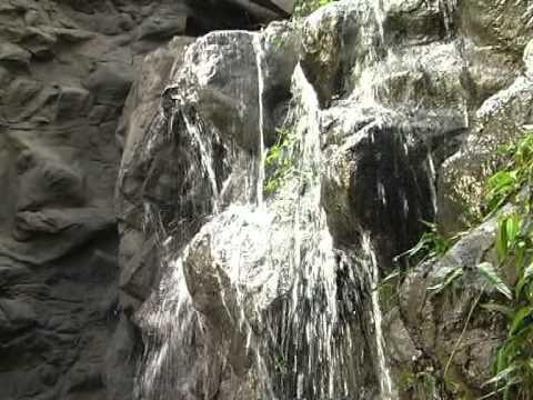 Making Lightweight Rocks at Sydney Wildlife World in Australia