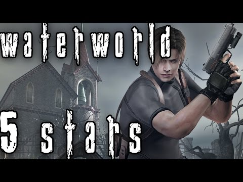 Resident Evil 4 Mercenaries: Leon - Waterworld 5 Stars (Commentary)