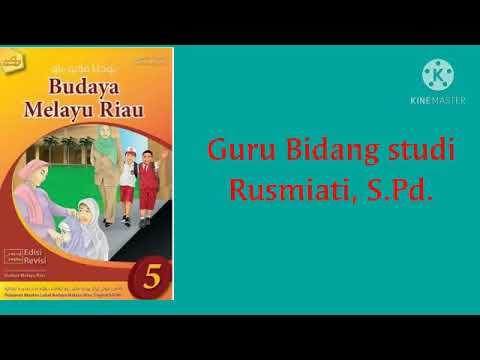 Kelas 5 Budaya Melayu Riau Sapaan Dalam Keluarga Melayu Youtube