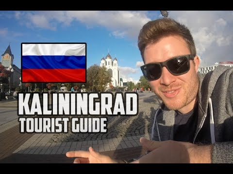 KALININGRAD RUSSIA - English tourist guide