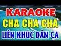 Download Karaoke Nhạc Sống | Liên Khúc Cha Cha Cha Dân Ca | Nhạc Sống Karaoke Trữ Tình Trọng Hiếu