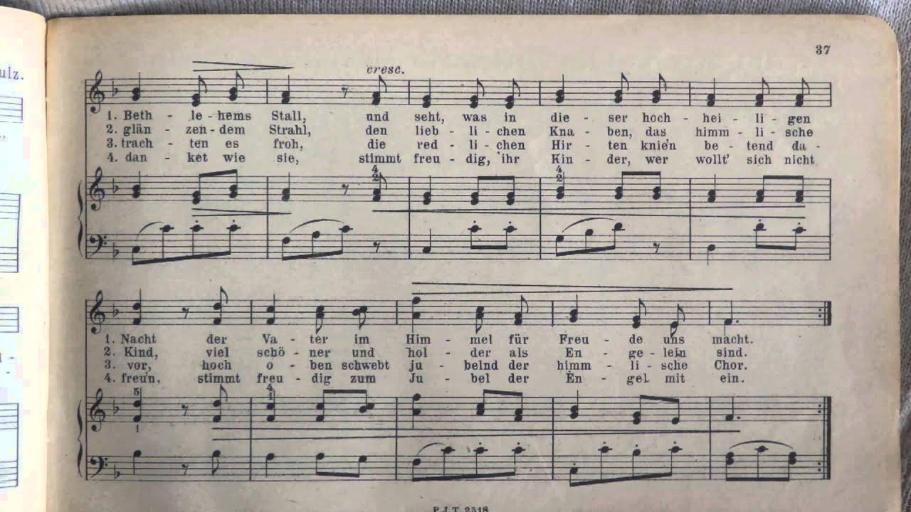 Weihnachtslieder Gesang.Weihnachtslieder Ihr Kinderlein Kommet Gesang Solo