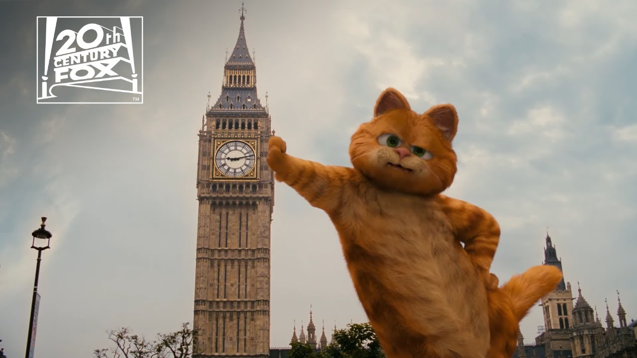 """Download Garfield: A Tail of Two Kitties   """"The British Are Coming!"""" Clip   Fox Family Entertainment"""