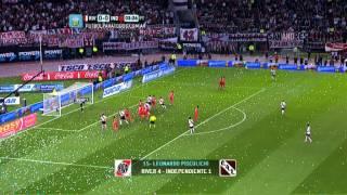 Todos los goles. Fecha 8. Torneo Primera División 2014. Fútbol Para Todos
