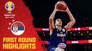 世界盃籃賽黑馬  塞爾維亞 預賽精彩片段