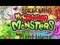 My Screaming Monster Plant Island | My Singing Monsters Recording Studio