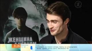 "Daniel Radcliffe | Russian TV program ""Good Morning"" 