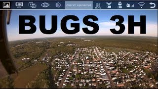 MJX BUGS 3H non Altitude Hold FLIGHT camera and app brushless DRONE TESTING