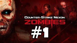 Counter Strike Nexon Zombies Walkthrough Part 1 Gameplay Let